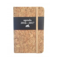 Schoolagenda pocket A6 deluxe 1 2016-2017